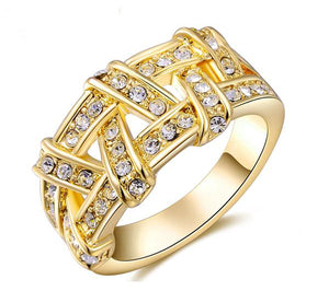 The Queen Gold Fashion Ring #1