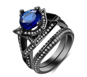 The Queen Black Vintage Ring #8