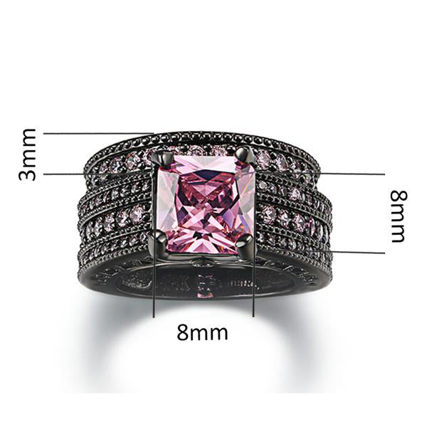 The Queen Black Vintage Ring #11