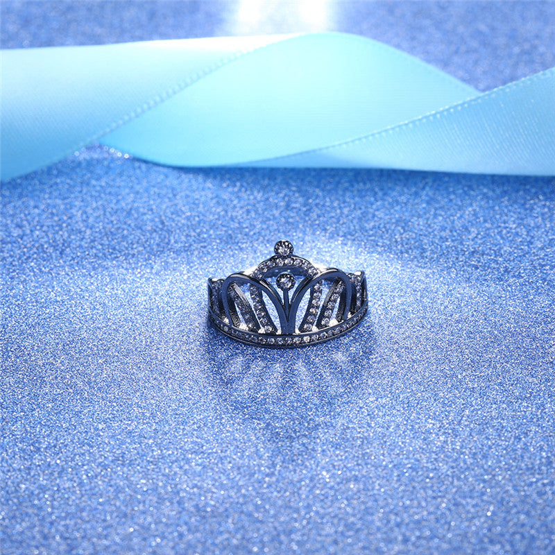 The Queen Black Vintage Ring #1