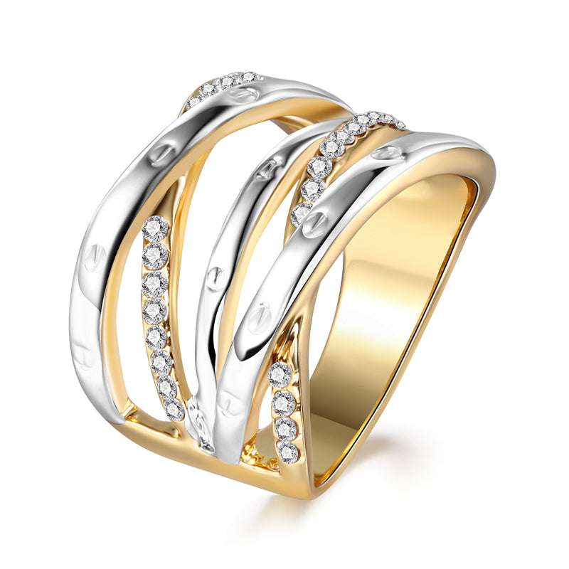 The Queen Gold Fashion Ring #5