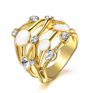 The Queen Gold Fashion Ring #6