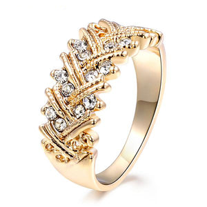 The Queen Gold Fashion Ring #10