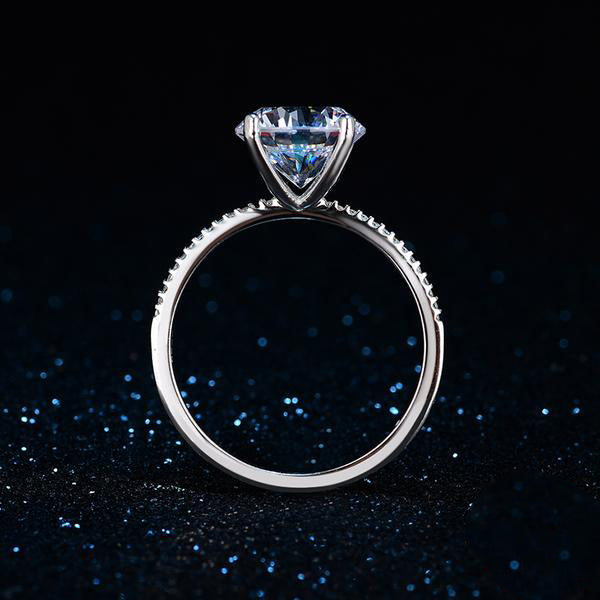 The Queen Silver Classic Ring #11
