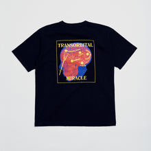 "Load image into Gallery viewer, ""Transorbital"" HW Cotton Tee -Black"