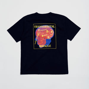 """Transorbital"" HW Cotton Tee -Black"
