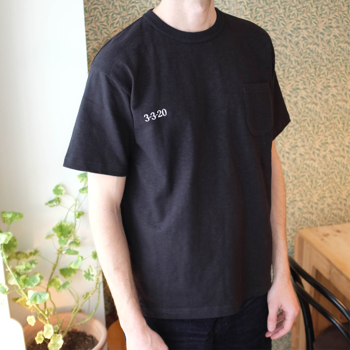 Heavy Weight Cotton Tee - Black