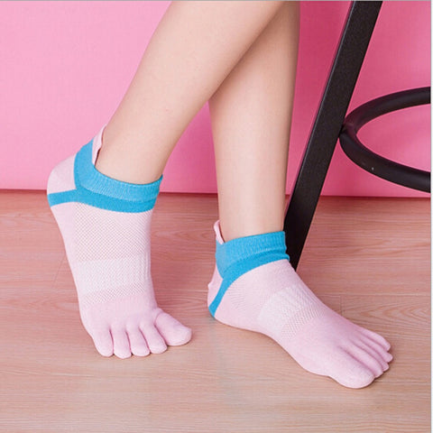 100% Cotton Five Finger Socks