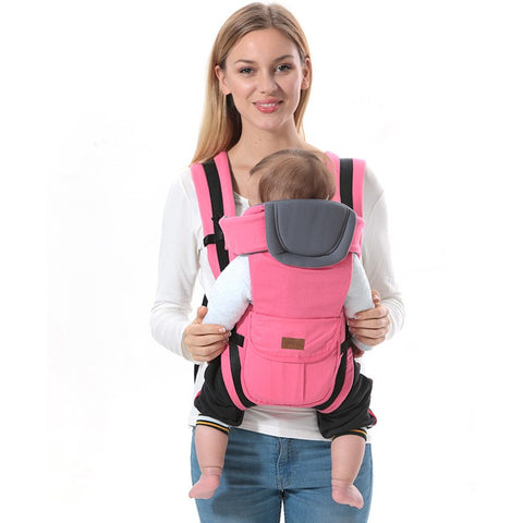 0-30 months baby carrier, kids sling backpack pouch wrap Front Facing multifunctional infant kangaroo bag