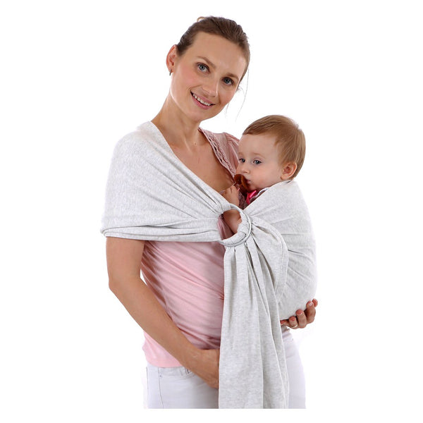 Baby Wrap Carrier Lightweight Comfortable Baby Carrier with Ring Sling for Infants and Babies