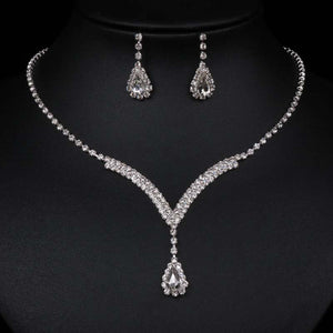 Luxurious Necklace Earing Set - Luxury for women