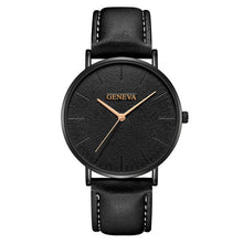 Load image into Gallery viewer, Luxurious Ultra Thin Leather Watch - Luxury for women