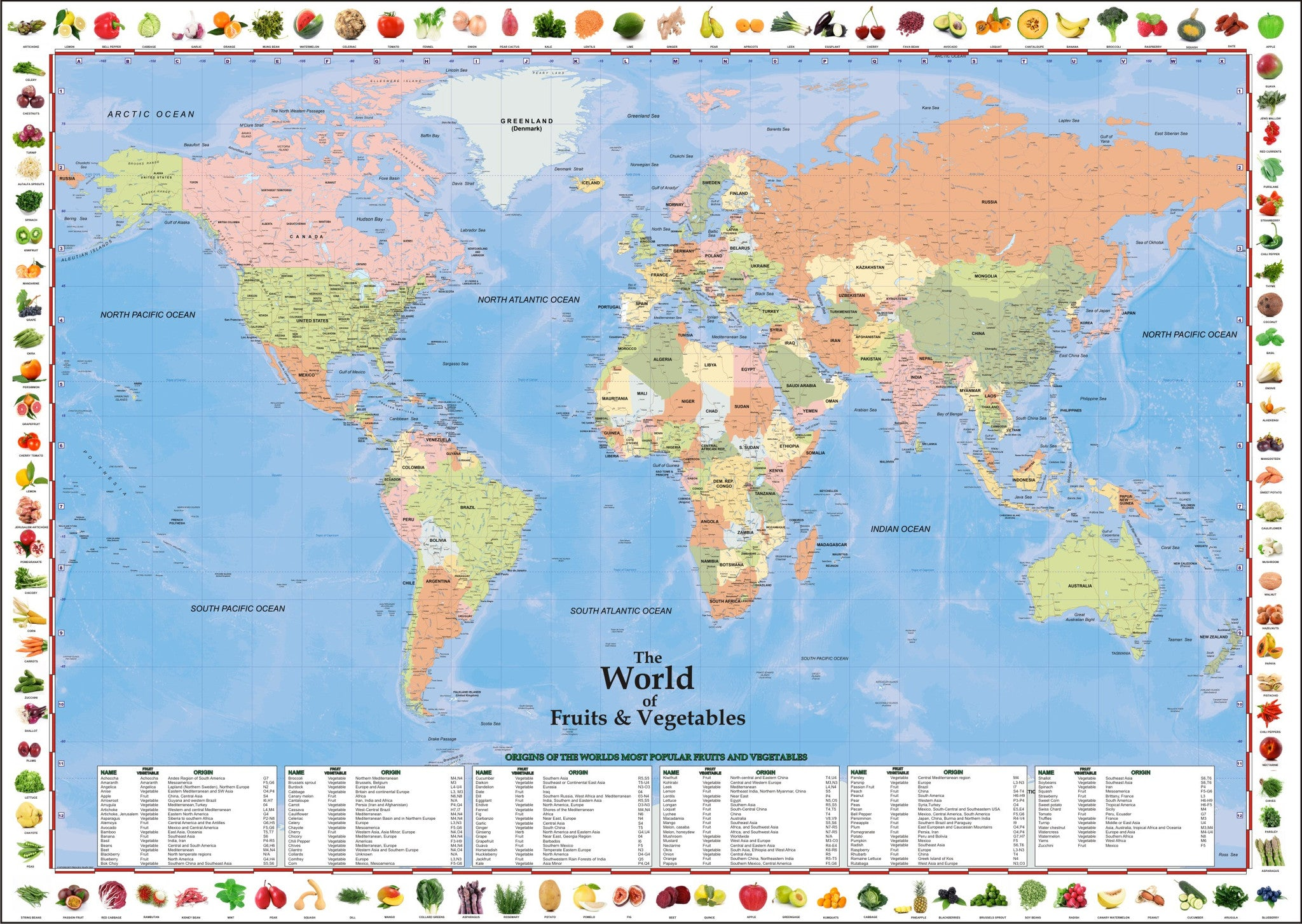 Progeo maps the world of fruits and vegetables progeo maps guides please upgrade to full version of magic zoom plus progeo maps the world gumiabroncs Gallery