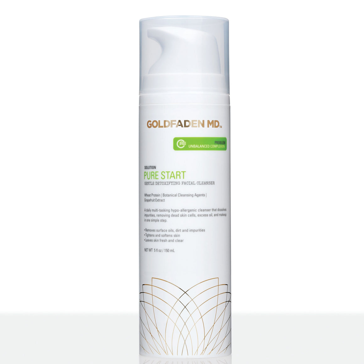 Goldfaden MD - Pure Start arclemosó 150ml