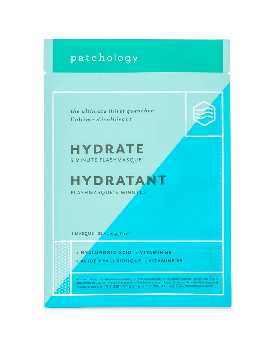 Patchology - FlashMasque® Hidratáló fátyolmaszk 1 db