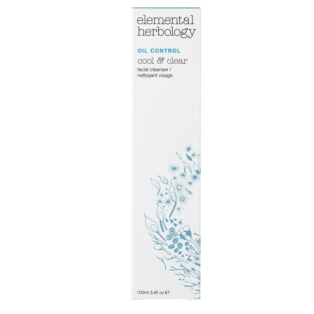 Elemental Herbology -Cool & Clear arclemosó 100ml