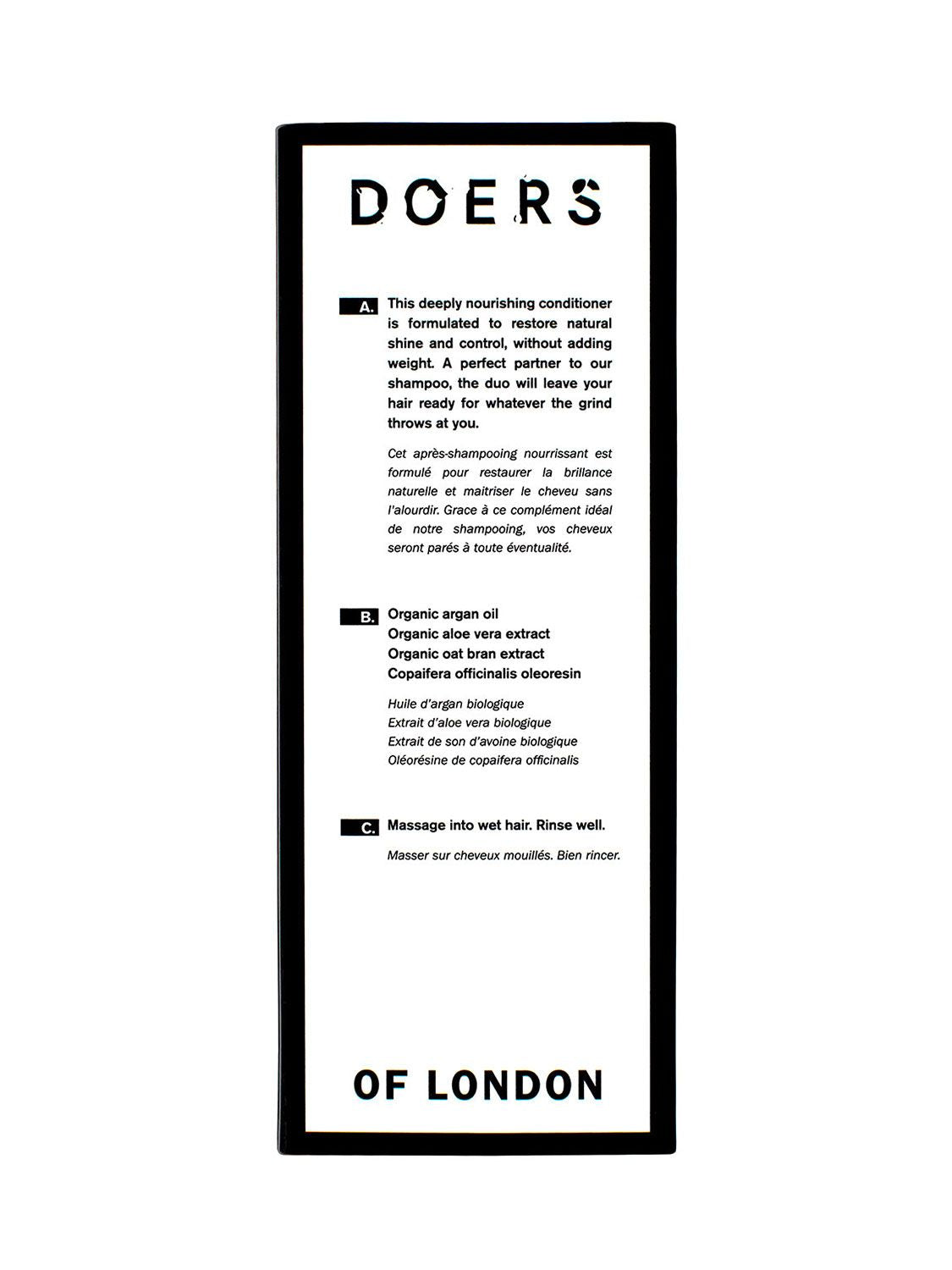 Doers of London - Hajkondícionáló 300ml