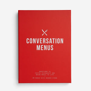 The school of life - Conversation Menus