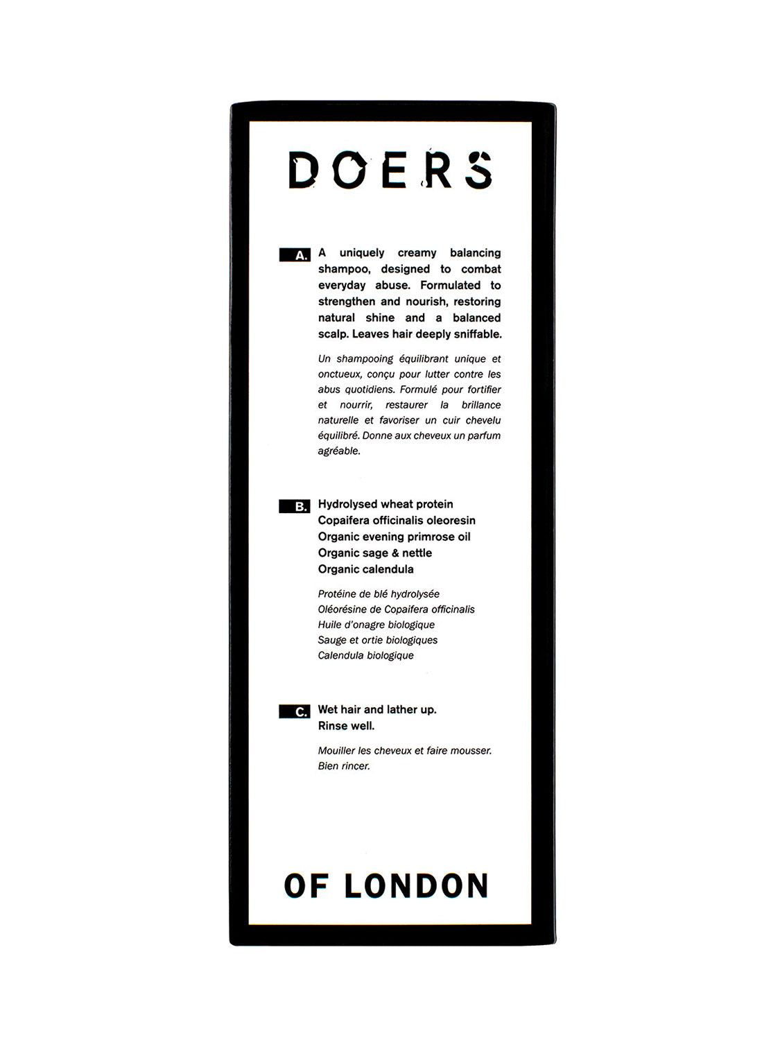 Doers of London - Sampon 300ml