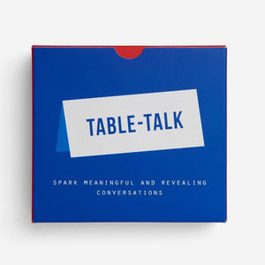 The school of life - Table Talk Conversation placecards