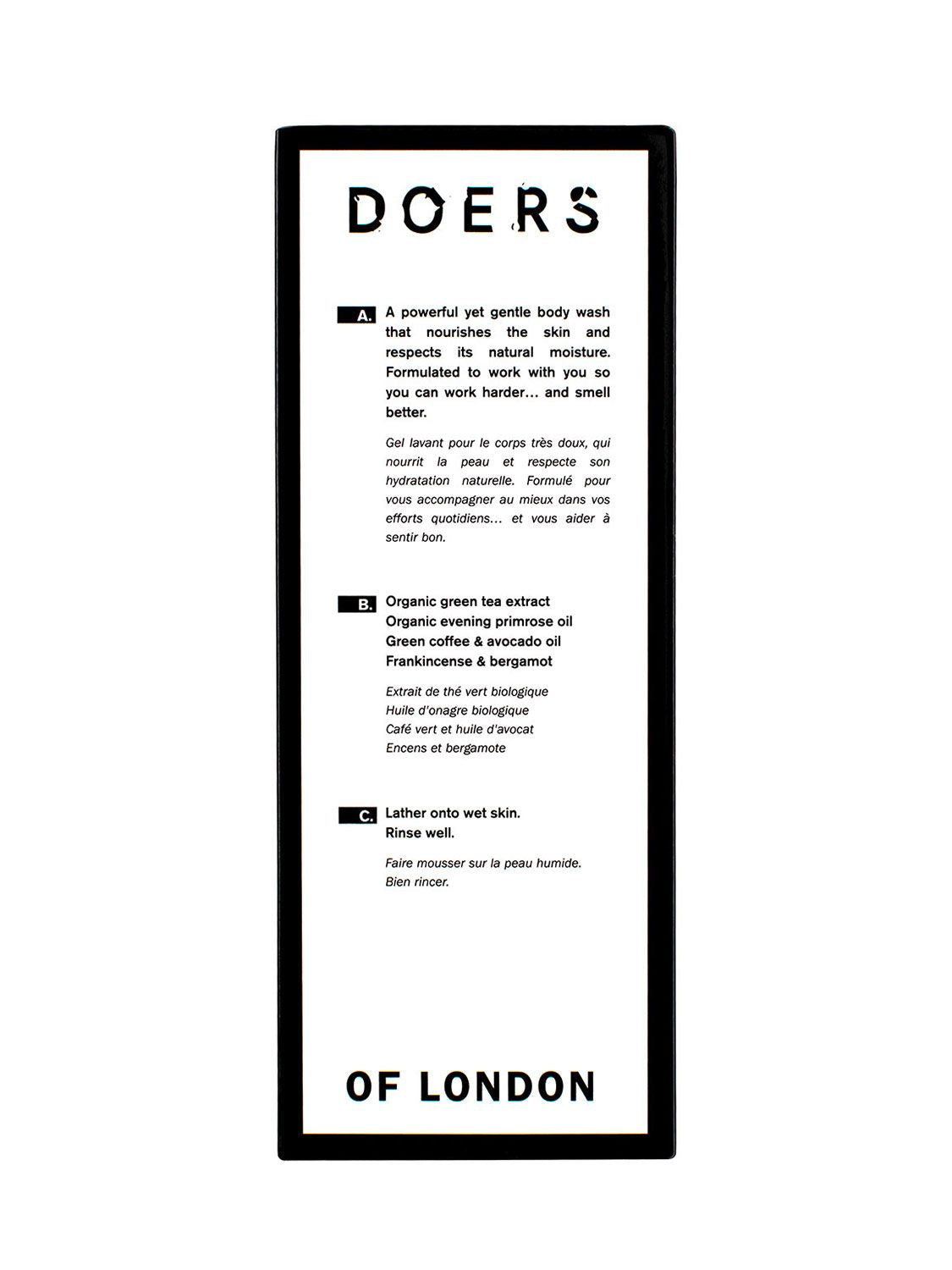 Doers of London - Tusfürdő 300ml