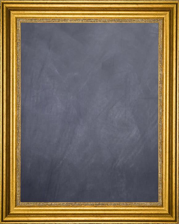 Framed Chalkboard - Gold Finish Frame