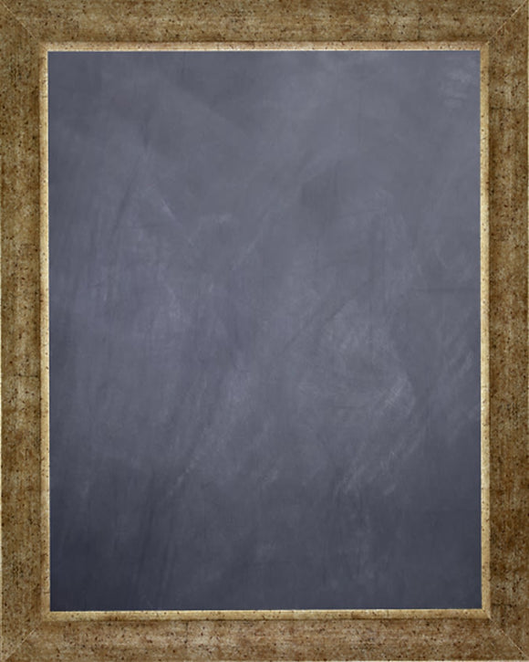 Framed Chalkboard - Antique Silver Finish Frame