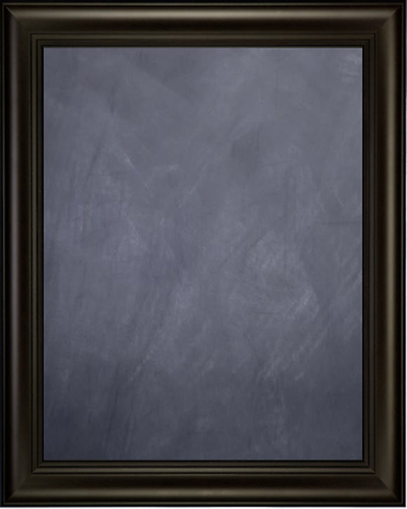 Framed Chalkboard - Espresso Finish Frame with Triple Step Lip