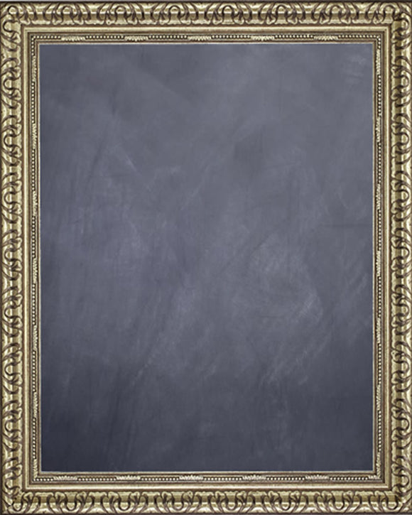 Framed Chalkboard - Silver Finish Frame