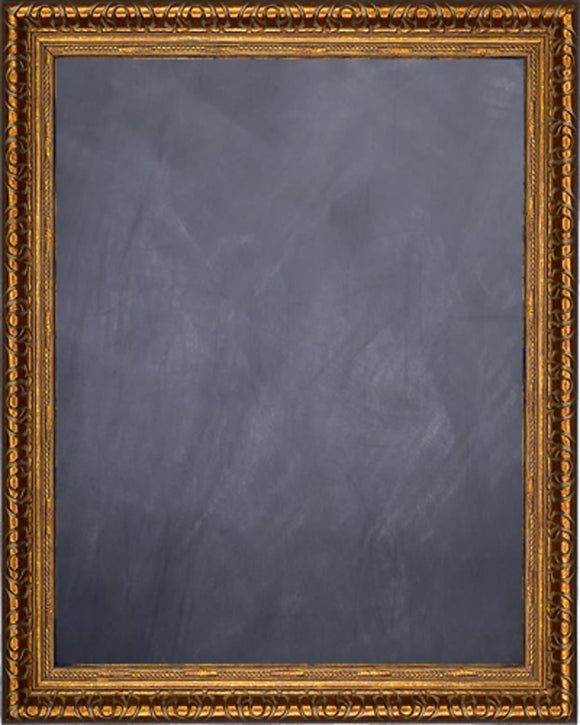 Framed Chalkboard - Copper Finish Frame