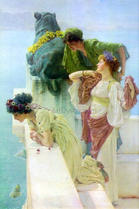 Sir Lawrence Alma-Tadema A Coign of Vantage - Canvas Art Print