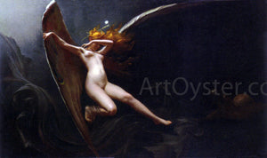 Luis Ricardo Falero A Fairy Under Starry Skies - Canvas Art Print