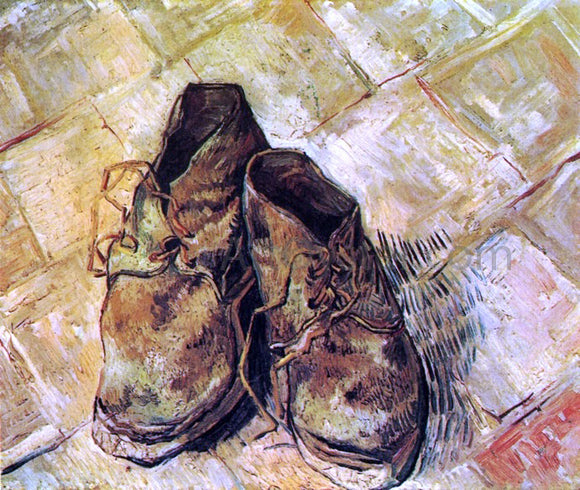 Vincent Van Gogh A Pair of Shoes - Canvas Art Print