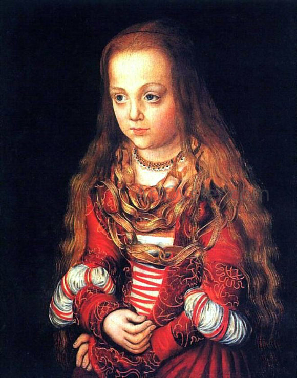 The Elder Lucas Cranach A Princess of Saxony - Canvas Art Print