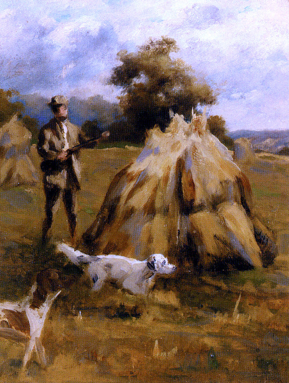 Percival Leonard Rosseau A Shooting Study - Canvas Art Print