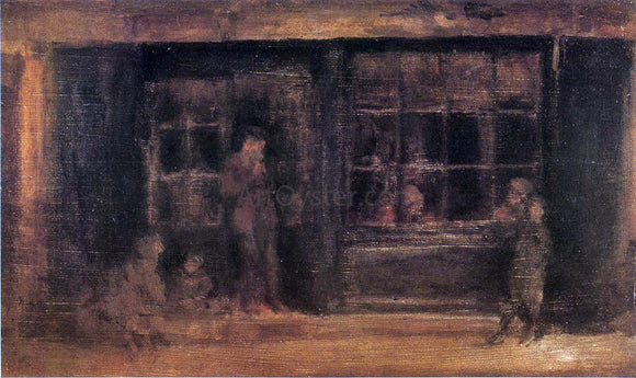 James McNeill Whistler Shop - Canvas Art Print