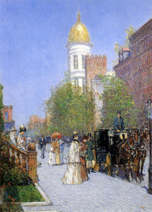 Frederick Childe Hassam A Spring Morning - Canvas Art Print