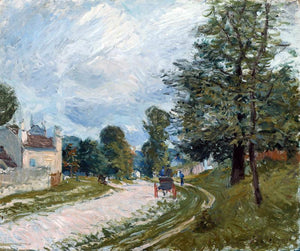 Alfred Sisley A Turn in the Road - Canvas Art Print