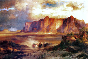 Thomas Moran Acoma - Canvas Art Print