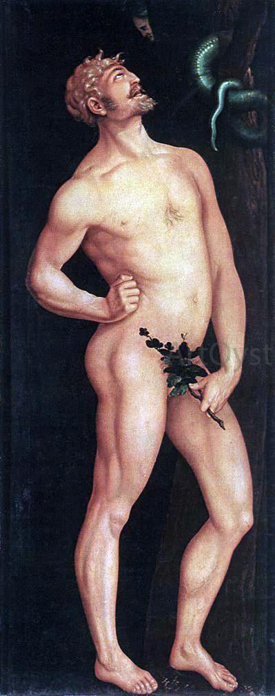 Hans Baldung Adam - Canvas Art Print