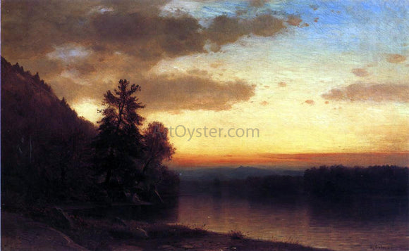 Jr. Samuel Colman Adirondack Twilight - Canvas Art Print