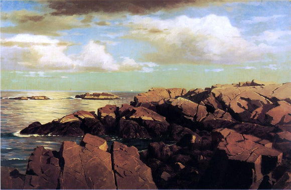 William Stanley Haseltine After a Shower, Nahant, Massachusetts - Canvas Art Print