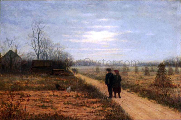 Samuel S Carr After School - Canvas Art Print