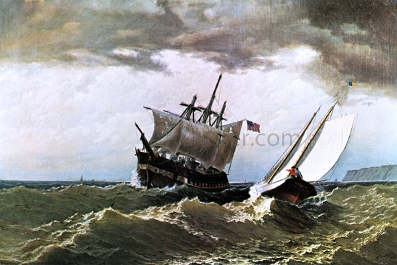 William Bradford After the Storm - Canvas Art Print