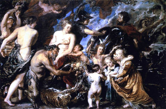 Peter Paul Rubens Allegory on the Blessings of Peace - Canvas Art Print