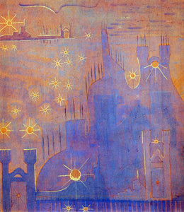 Mikalojus Ciurlionis Allegro Sonata of the Sun - Canvas Art Print