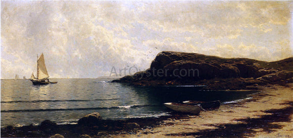 Alfred Thompson Bricher Along the Shore - Canvas Art Print