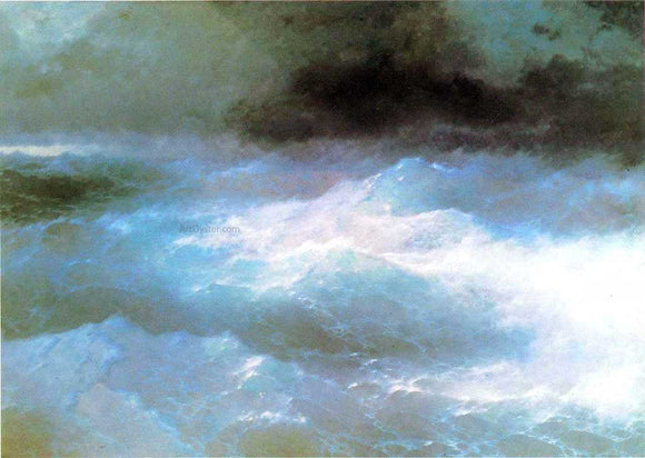 Ivan Constantinovich Aivazovsky Among the Waves - Canvas Art Print