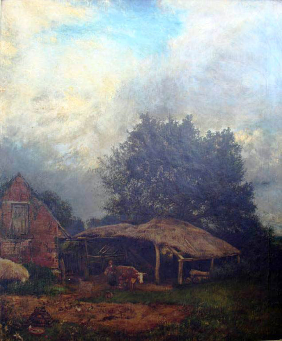 Henry Mark Anthony English Pastoral - Canvas Art Print