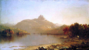 Sanford Robinson Gifford An October Afternoon - Canvas Art Print